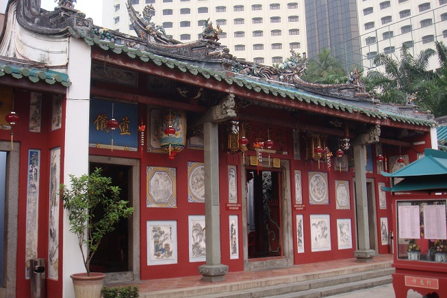 Figure 2: Johor Bahru Old Chinese Temple at Jalan Trus