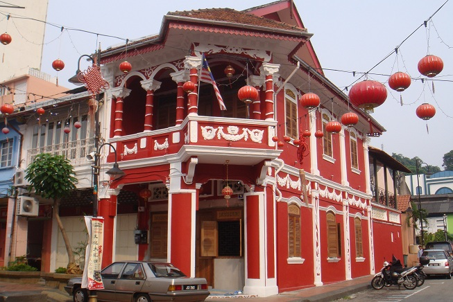 Figure 1: One of the historical building in Johor Bahru in Jalan Tan Hiok Nee