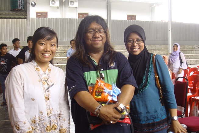 Figure 16: Berry Teacher with Awang BPR and Nurun Nadia Masrom
