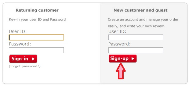 Opening an account in MPH Online Bookstore